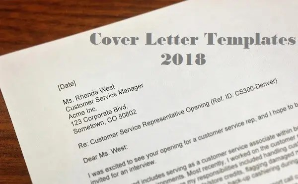 the best cover letter templates for 2018 for your success clr