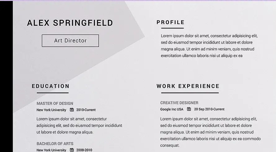 The Best Resume Templates For 2020 A Perfect Guide Clr