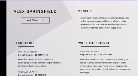 The Best Resume Templates 2020 Banner