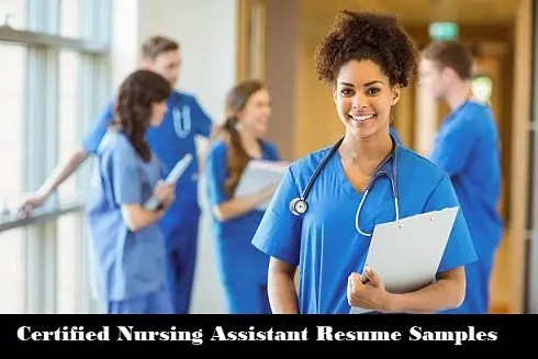 CNA Resume Page Image