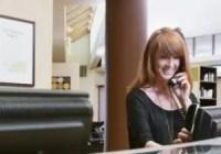 Clerk Receptionist Resume Banner