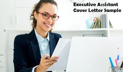Executive Assistant Cover Letter Sample Banner