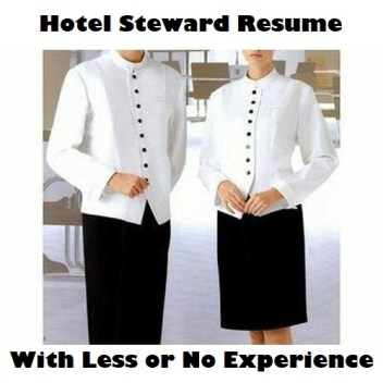 Hotel-Steward-Resume-with-Less-or-No-Experience-Page-Image