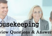 Housekeeping Interview