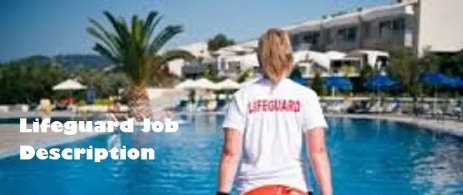 Lifeguard Job Description Page Image
