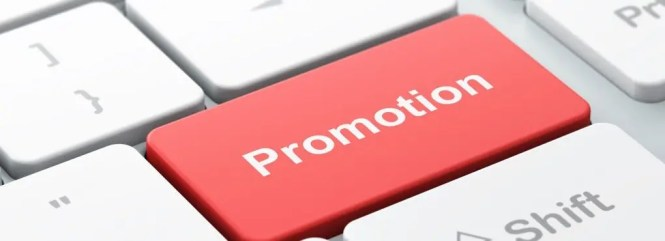 Promotion Announcement Email Sample Page Image