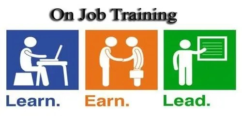 on the job training resume