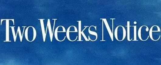 Sample Two Weeks' Notice Letters in Good Terms Page Banner