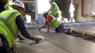 concrete finisher job description for resume banner
