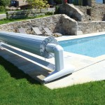 placement volet de piscine mobile