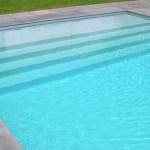 volet de piscine immergé