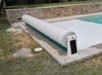 rideau hors sol solaire piscine