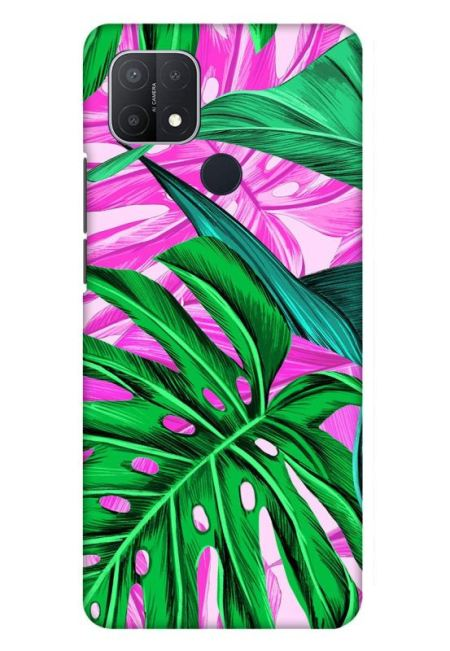 Tropical Design Mobile Cover For Oppo A15S