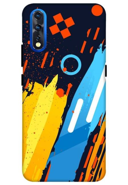 Android 10 Art Mobile Cover For Vivo Z1X