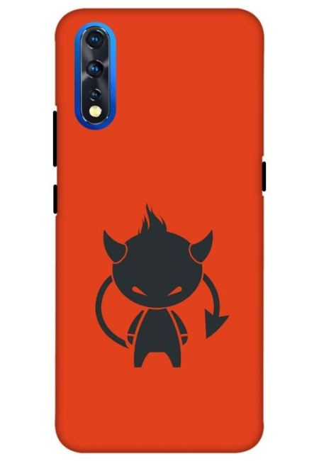 Angry Girl Mobile Cover For Vivo Z1X