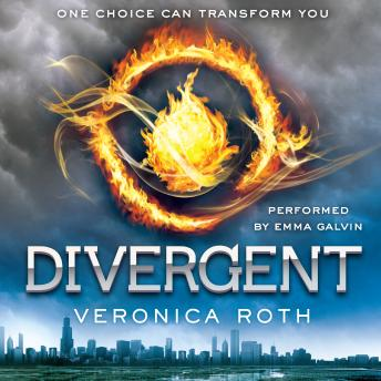 DIvergent audio book by Veronica Roth
