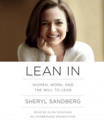 Lean In audio book by Sheryl Sandberg