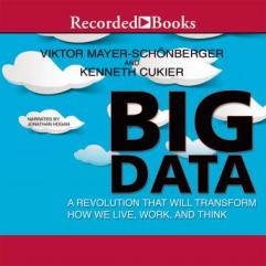 Big Data audio book by Viktor Mayer-Schonberger and Kenneth Cukier