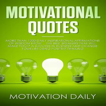 Positive Attitude Self Motivation Inspirational Quotes