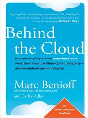 Behind the Cloud - salesforce.com
