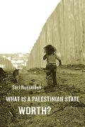 What Is a Palestinian State Worth? Cover