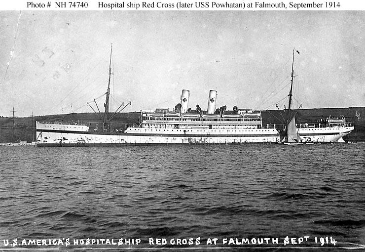 """Reichspostdampfer """"Hamburg"""", später USS """"Powhatan"""""""