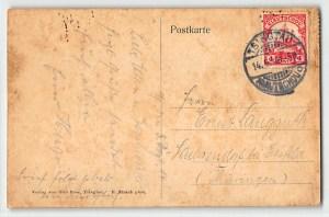 1914, Ersttag Belagerung Kiautschou
