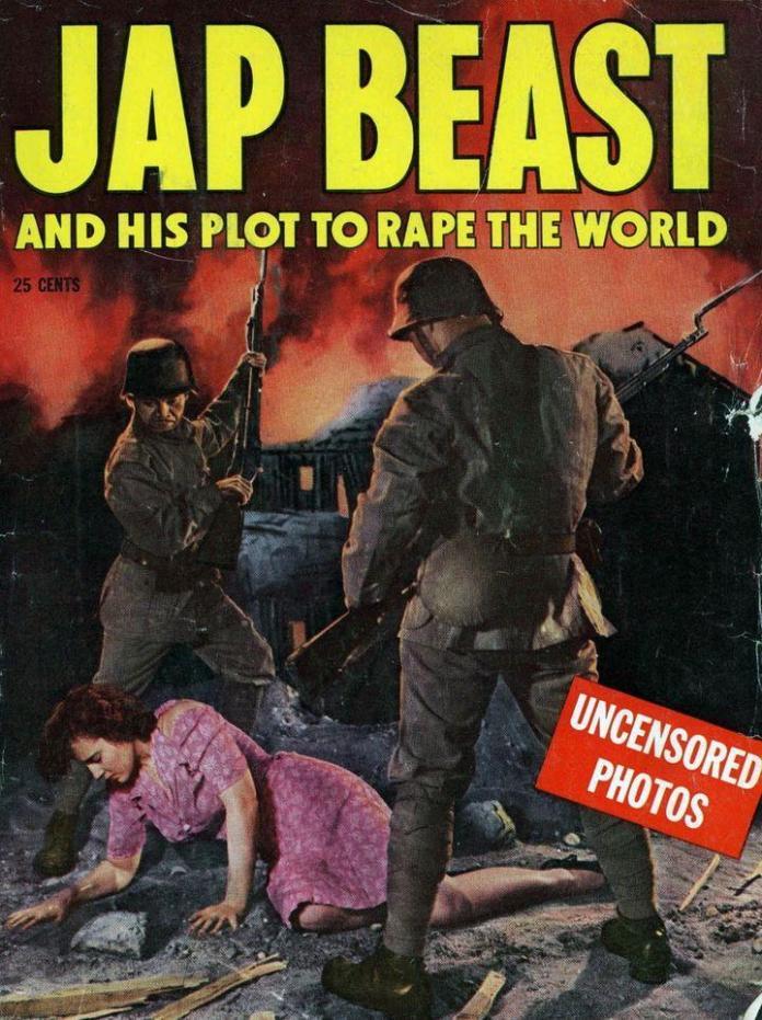 An American anti-Japanese propaganda magazine.