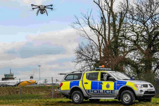 Sussex Police buy five more drones to be used instead of patrols during emergencies