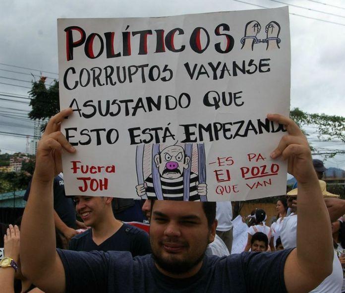 Honduras election protest 2