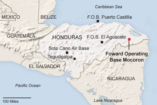 US Military Supporting Honduras Drug War with New Forward Bases - InSight Crime