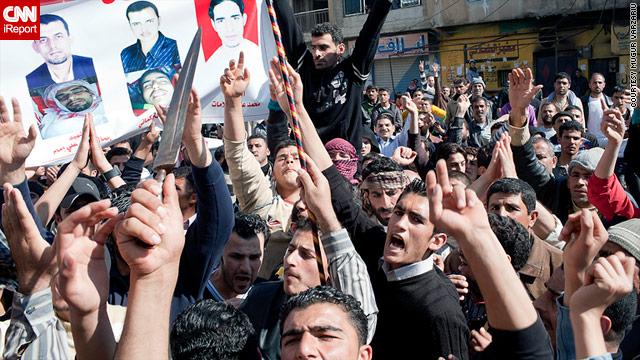 At least 37 people have died in violent protests since last week in Daraa, the U.N says.