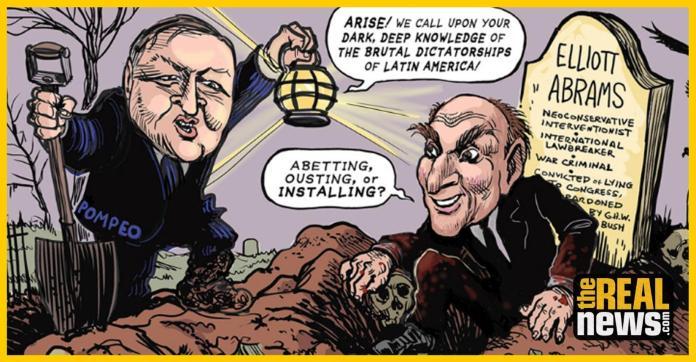 Elliott Abrams: el criminal de guerra que dirige la política estadounidense en Venezuela
