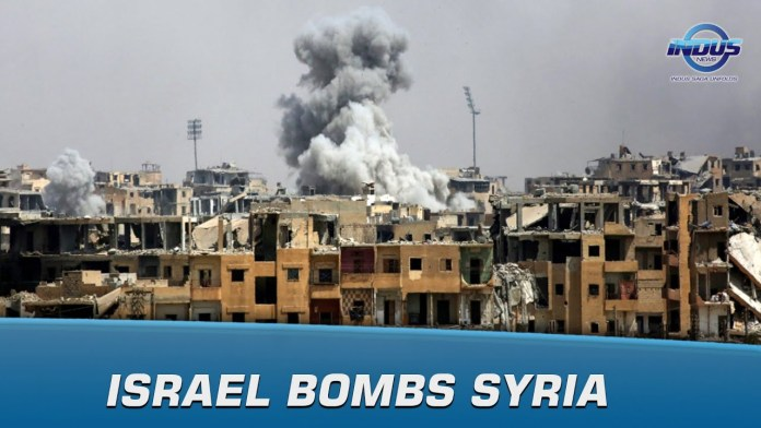 Israel Bombs Syria | Indus News | Indus News Bulletin - YouTube