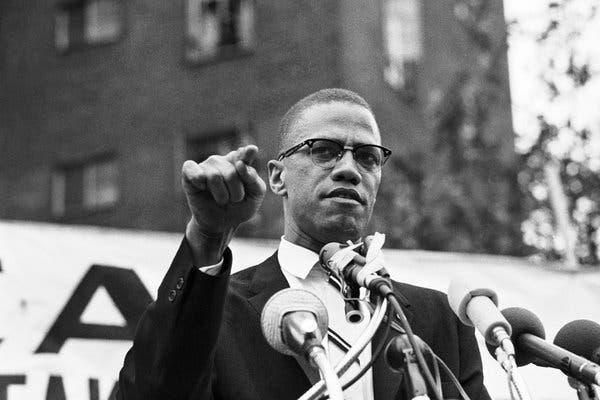 Malcolm X el 29 de junio de 1963.