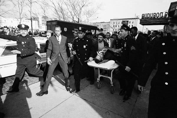 Malcolm X fue asesinado en el Audubon Ballroom el 21 de febrero de 1965.