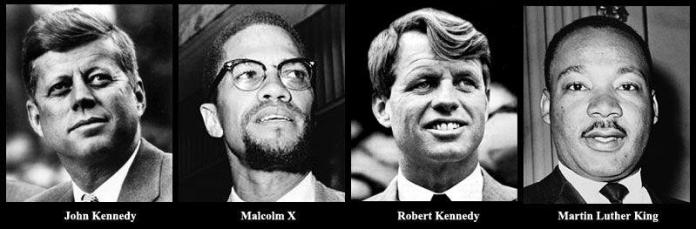 USA sixties | Malcolm x, Robert kennedy, Martin luther king
