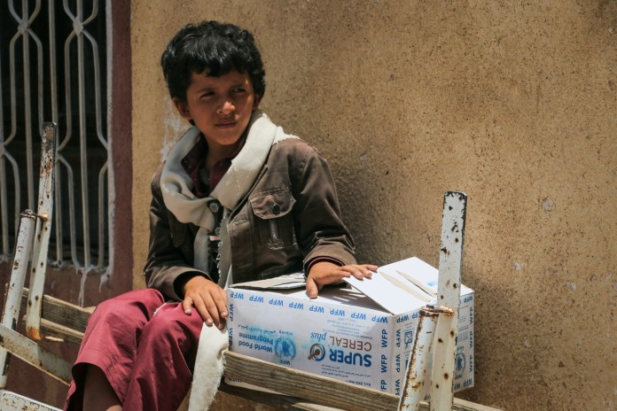 WFP Provides Food Assistance To A Record 7 Million People In Yemen In August 2017. UN World Food Programme