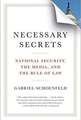 Amazon.com: Necessary Secrets: National Security, the Media, and the Rule  of Law (9780393339932): Schoenfeld, Gabriel: Books