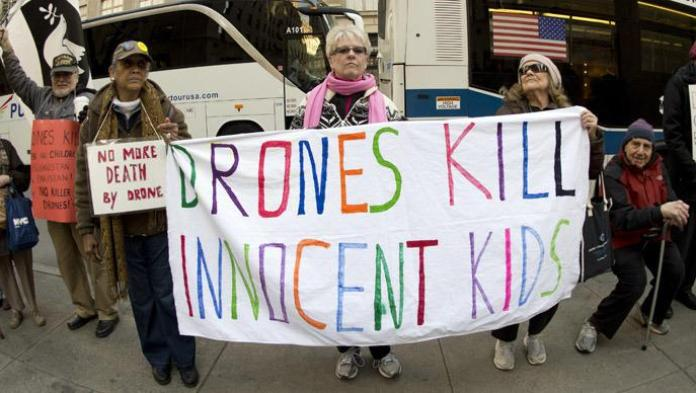 Drones fly, children die': US activists launch massive anti-drone campaign — RT USA News