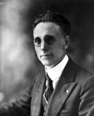 Portrait of Tulsa Mayor T.D. Evans, elected in 1920