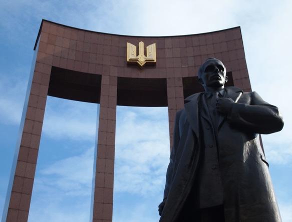 Stepan Bandera Monument