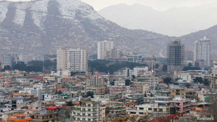 Una vista general de la zona verde en Kabul, Afganistán, 13 de marzo de 2019.