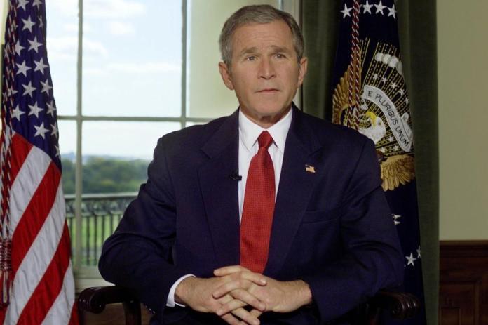 George W. Bush en la Casa Blanca en 2001.