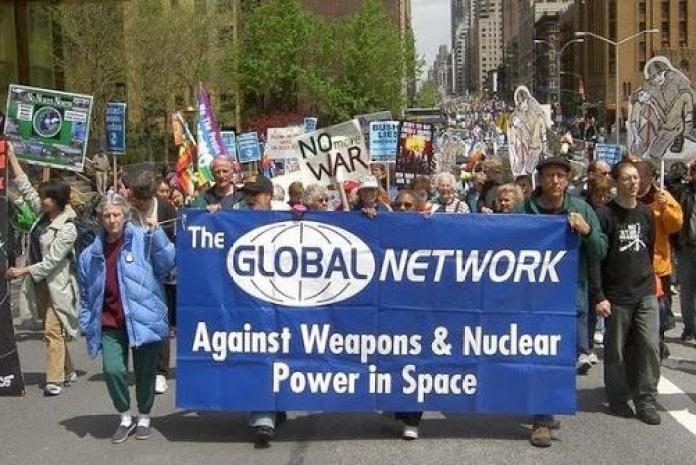 Nuclear Hotseat #276: NUKES IN SPACE - Bruce Gagnon of Global Network  Against Weapons and Nuclear Power in Space - Nuclear Hotseat