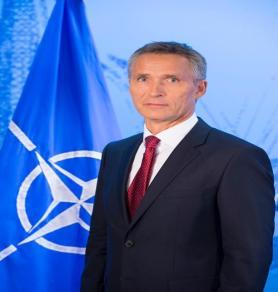 Official portrait of NATO Secretary General Jens Stoltenberg