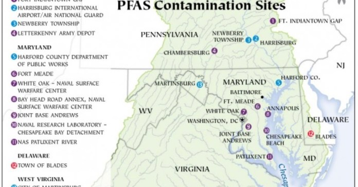 PA Environment Digest Blog: Bay Journal: Chesapeake Bay States Grapple With PFAS  Contaminating Drinking Water