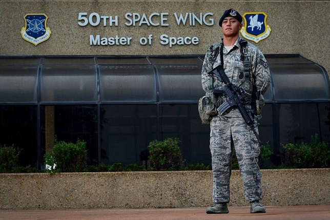 Staff Sgt. Eric Proctor of the 50th Security Forces Squadron, responsible for...