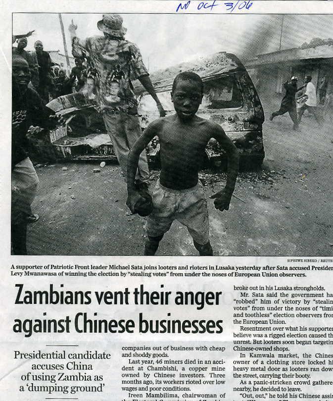 Zambia China