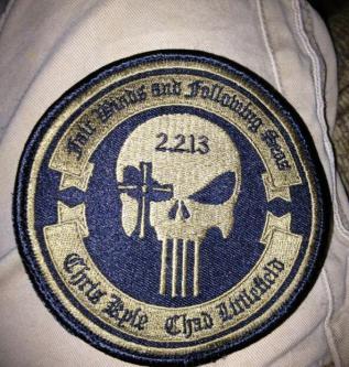 "Craft International 4"" Memorial Patch American Sniper Punisher Chris Kyle  for sale online   eBay"